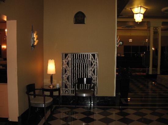 Ambassador Hotel: Old mailbox located in lobby