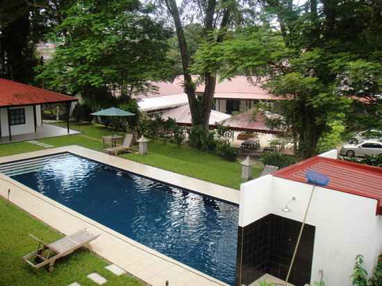 Basaga Holiday Residences: View from verandah room