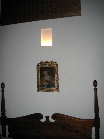 Hotel Casa del Curato: area above the bed