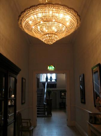 Castle Durrow: The upstairs hallway
