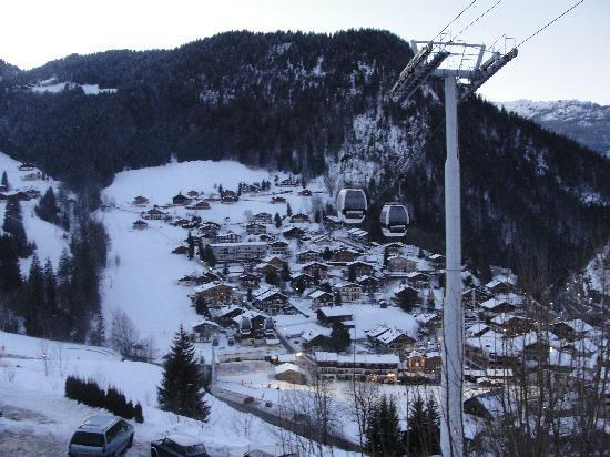 Chalet Le Panoramic: View to the Village from the room
