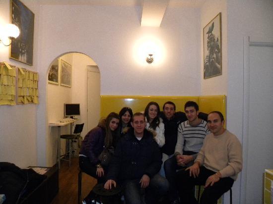 Bed & Breakfast Angolo Romano : foto dii gruppo con Gianfranco