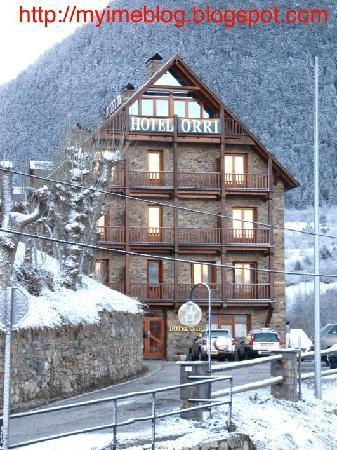 Hotel Orri RV Hotels : Fachada del hotel diciembre'09