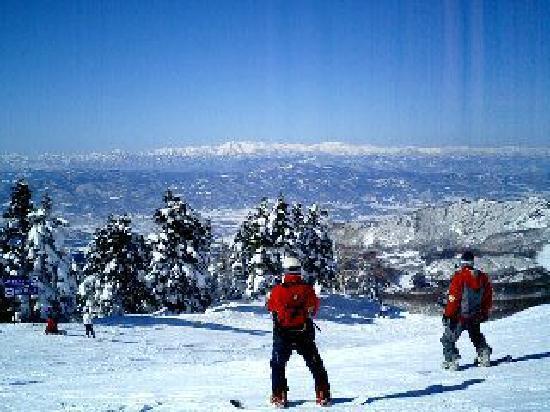 Yamagata Zao Onsen Ski Resort: 下界の景色