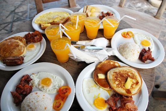Punta de Uian Resort & Hotel: I enjoyed breakfast
