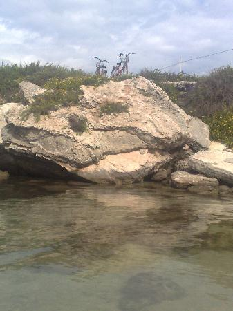 Al Ponte Antico Hotel: in bici a grotta perciata