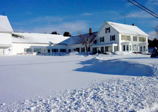 Damariscotta Lake Farm Restaurant and B&B: Bed and Breakfast House