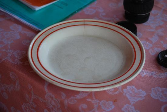 Residence Sa Jaga Brujada: Cracked plate