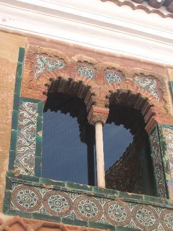 Ajimez, ventana mudéjar del casco historico de Zafra