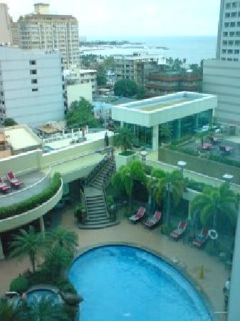 Pan Pacific Manila: 部屋からの景色