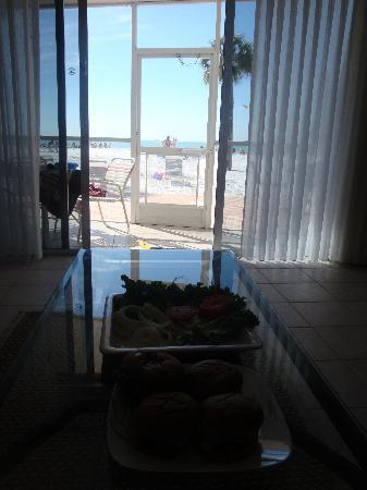 Crescent Tower Beachfront: View from the inside
