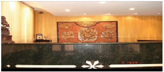 Bombay Tiffanys Hotel : reception