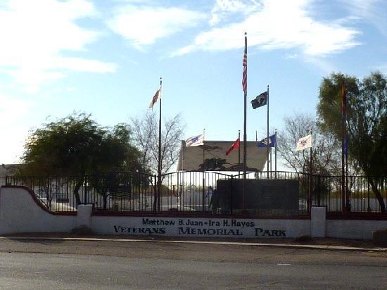 Sacaton, Аризона: Matthew B. Juan - Ira H. Hayes Memorial Park