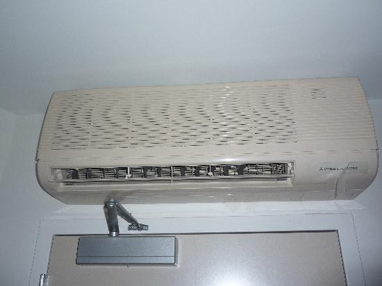 SpringHill Suites Atlanta Airport Gateway: Odd air conditioner for a new hotel