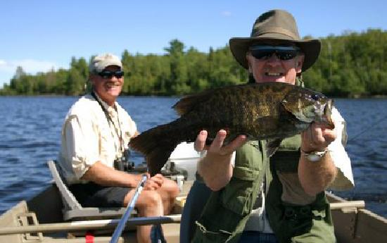 Walleyes, Smallmouth, Northern Pike - just a few fish to catch while at Moose Track Adventures -