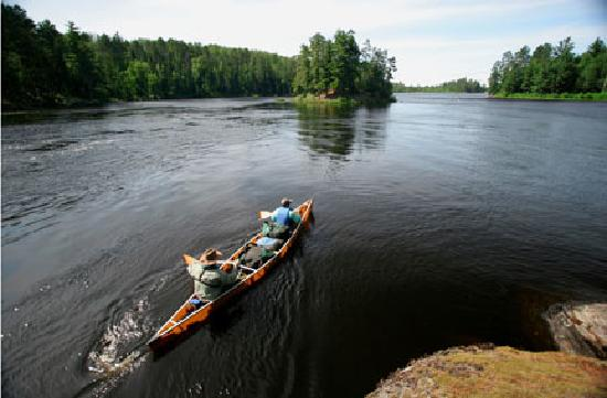 Moose Track Adventures - Ely MN - on the Edge of the Boundary Waters Canoe Area Wilderness