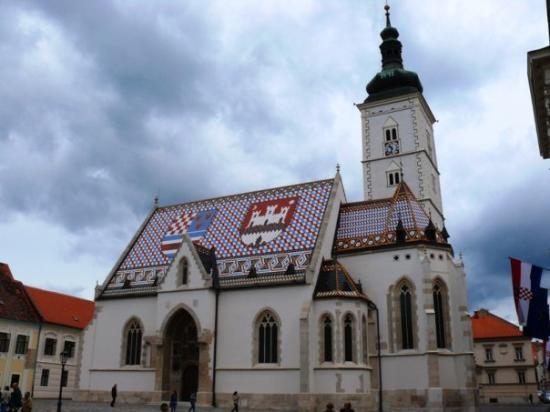 โบสถ์เซนต์มาร์ค: Zagreb, Hrvatska (2009)