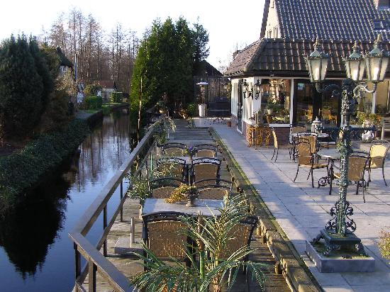 The hotel terrace picture of hotel restaurant de jonge for Hotels on the terrace