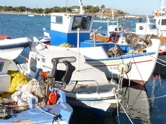 Plaka, Greece: Harbour of Agia Anna