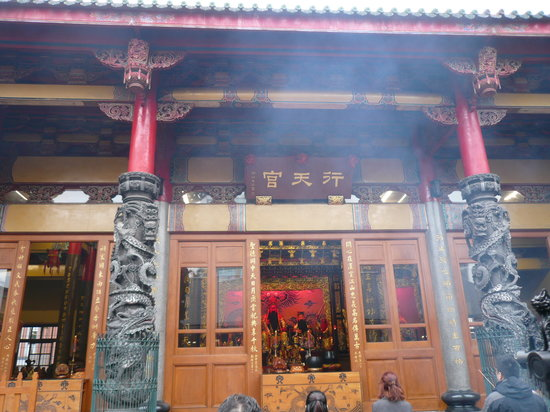 Hsing Tian Kong: 本宮です