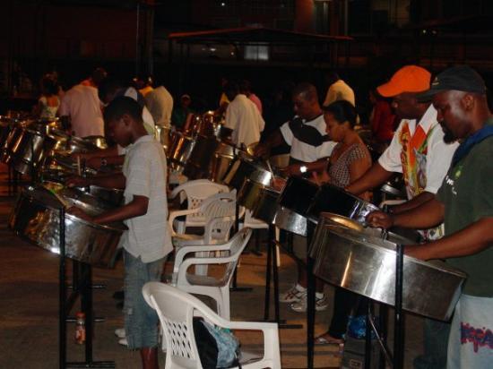 Trinidad: pan yard