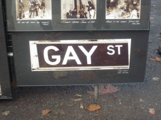 Gay Street: =)