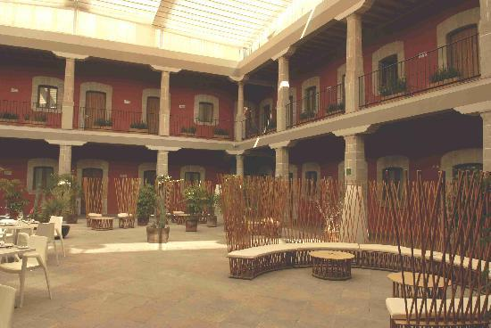 Boutique Hotel de Cortes: Innenhof