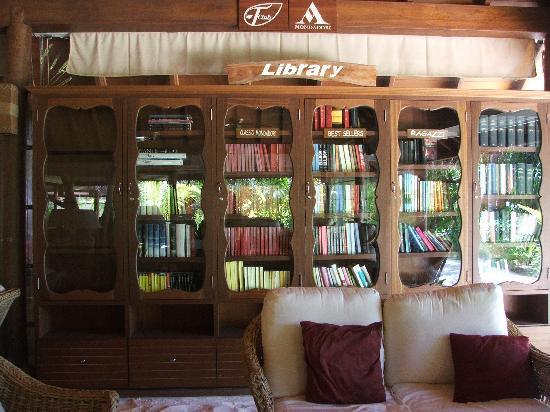 Maafushivaru : La libreria
