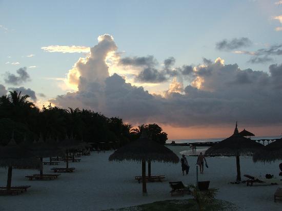 Maafushivaru : Spiaggia davanti al bar