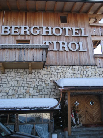 Berghotel: esterno