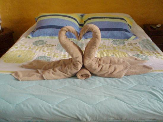 Hotel el Moro : The obligatory towel birds