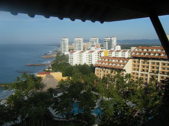Club Regina Puerto Vallarta: View from our balcony