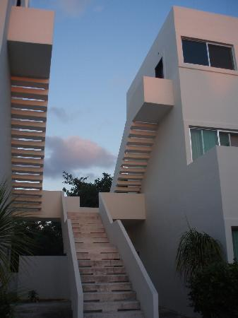 Villas H2O: Pretty in the early evening light