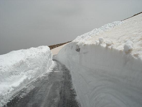 Lebanon: After the  Snow Plow -  Bcharre/ Aaynata  Pass