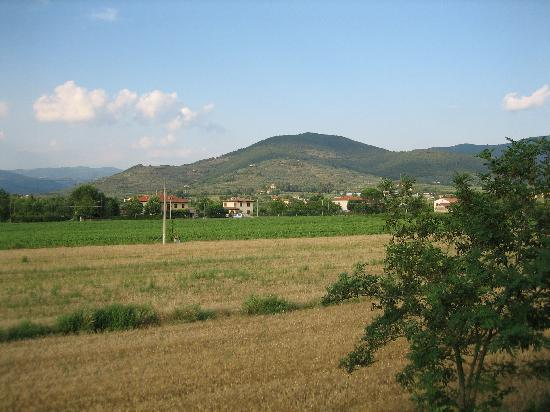 Castiglion Fiorentino, Italia: One of the views from my patio