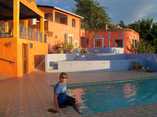 The pool was so relaxing beautiful and serene picture for Camping el jardin san juan