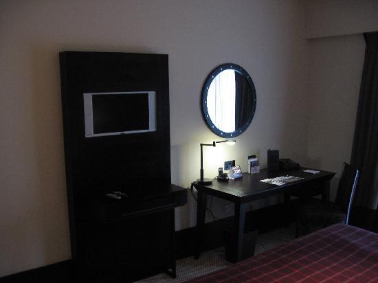 Malmaison Oxford Castle Flat Screen TV Inour Room