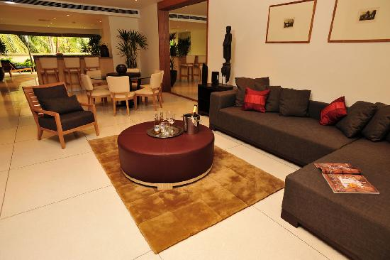 The Chava Resort: LIVING ROOM