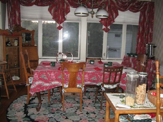 Alexander Hamilton House : One of the Dining rooms
