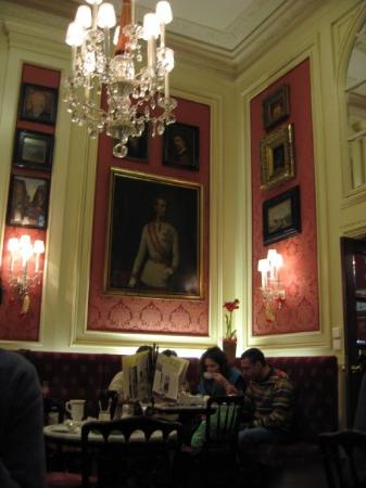 Hotel Sacher Wien : Sacher Cafe