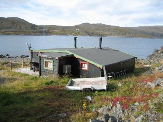 Коммуна Гамвик, Норвегия: Cottage up on the mountains were we stayed at, furthest Northern point of Norway's mainland, in