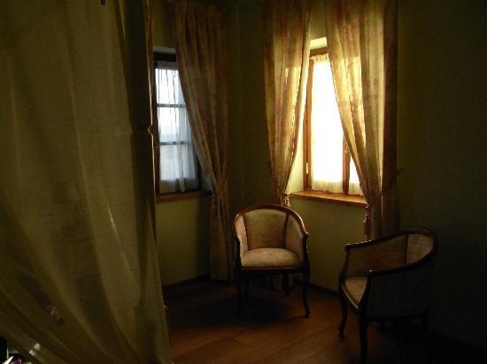 Aia Mattonata Relais: Interno della camera