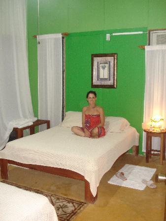 master bedroom Hacienda del Cielo, San Juanillo