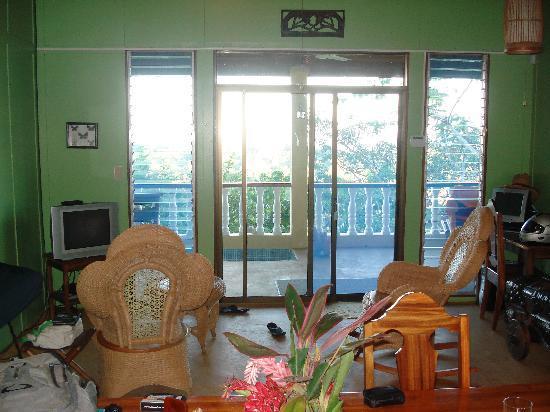 living room Hacienda del Cielo, San Juanillo