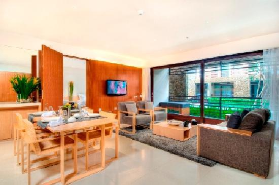 The Haven Bali: Living Area in Suites