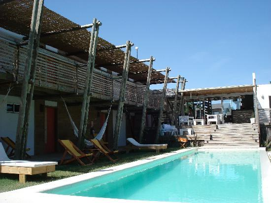 Posada Arenas de Jose Ignacio: Swimming pool view