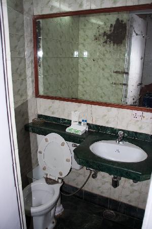 Hotel Asian International: The bathroom