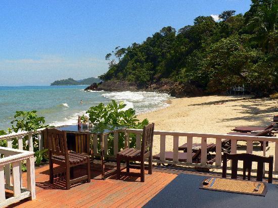 Koh Chang Cliff Beach Resort : petit déjeuner...