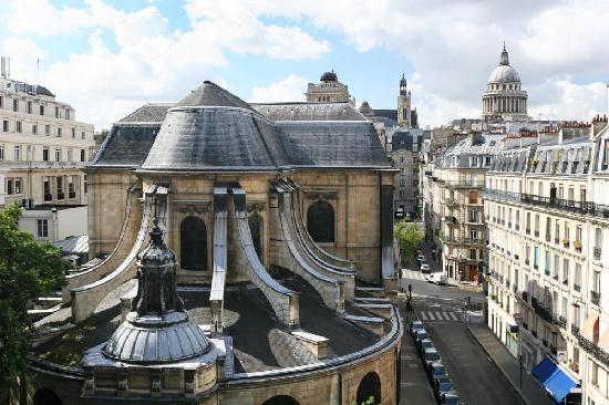 Hotel Abbatial Saint Germain: View