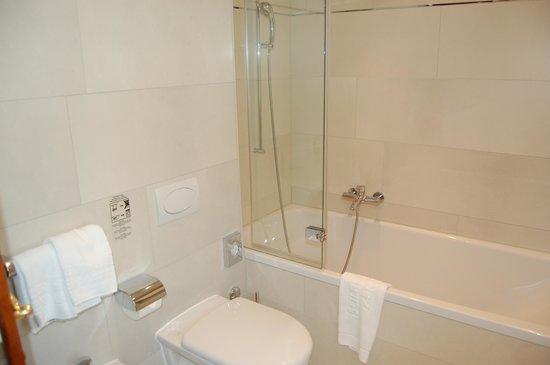 Hotel Monte Rosa: バスルーム